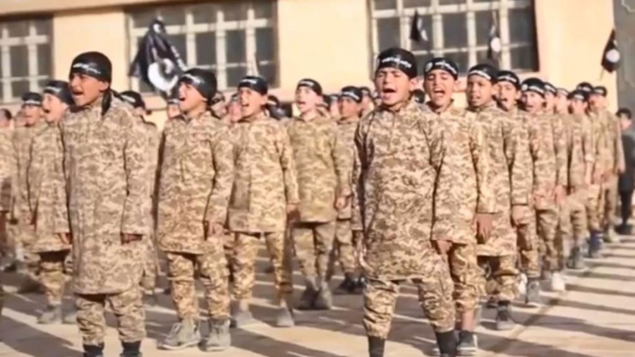 child soldiers isis